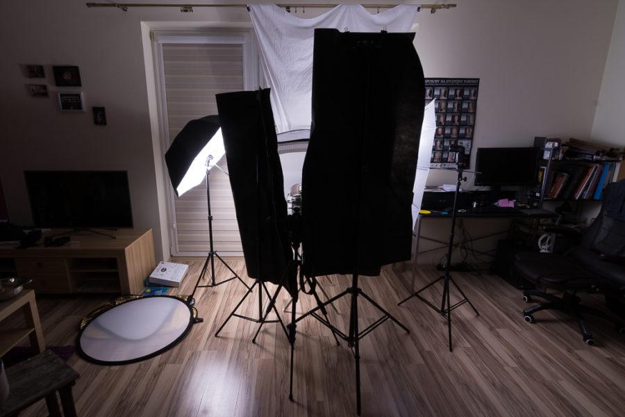 Namiot bezcieniowy w fotografii produktowej
