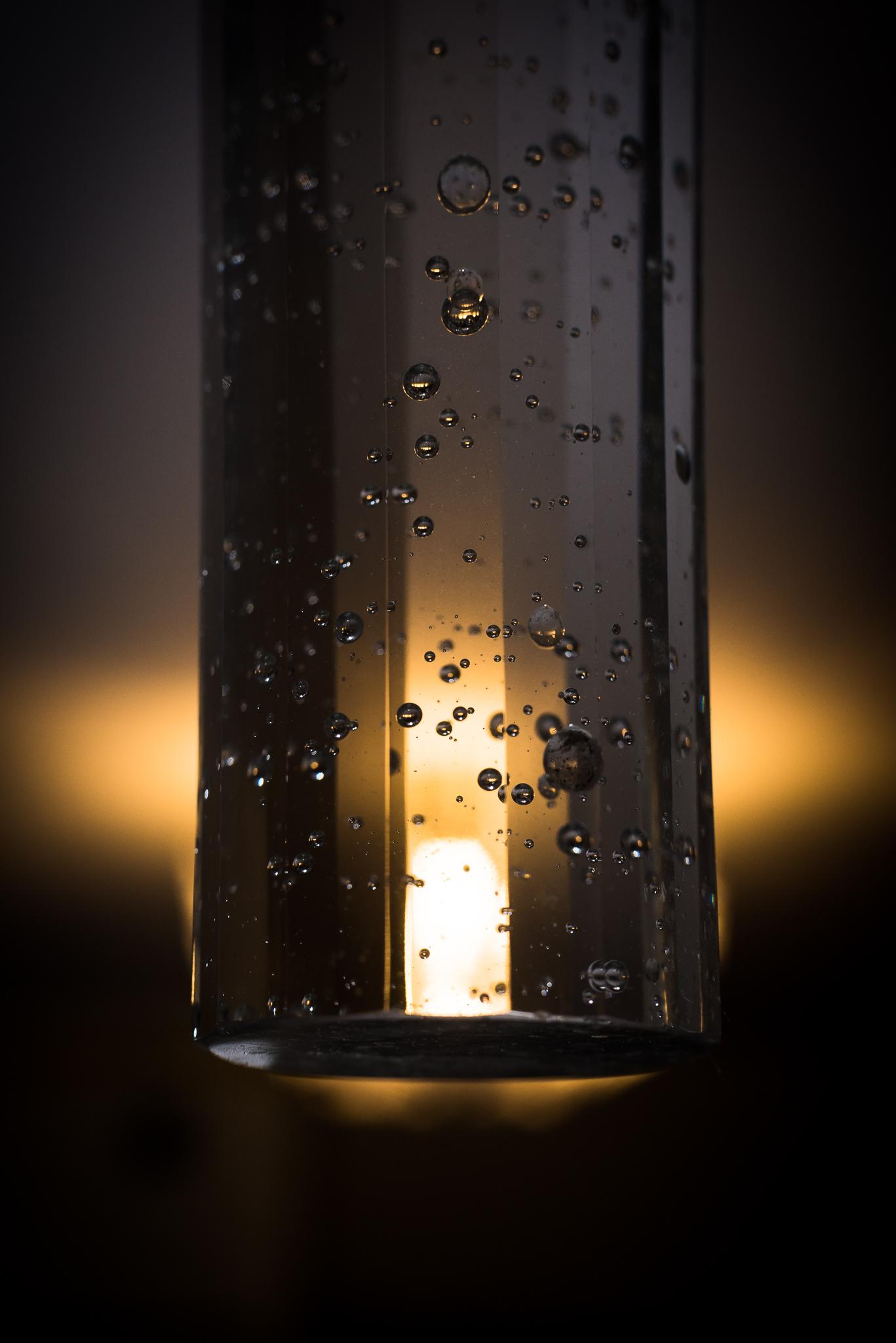 Szkło z bąbelkami